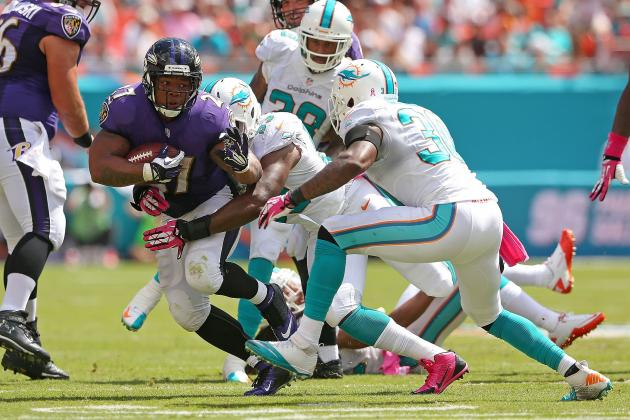 Tucker's Kick Lifts Ravens Past Dolphins 26-23