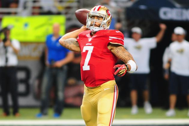 Colin Kaepernick's Guide to Leading 49ers to Victory over Texans