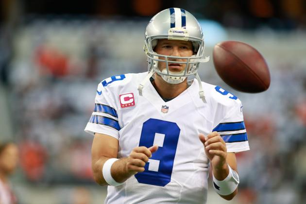 Tony Romo Instant Fantasy Reaction After Week 5 Performance vs. Broncos