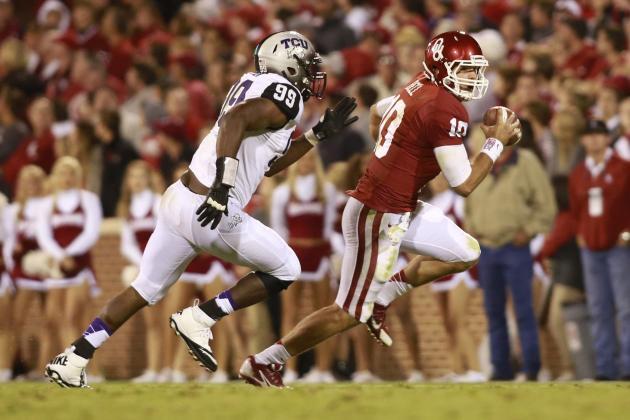 Texas vs. Oklahoma: Longhorns Must Make Blake Bell a Pocket Passer