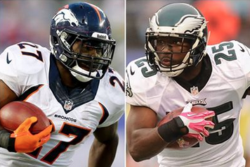 Eagles' LeSean McCoy Not a Fan of Broncos' Knowshon Moreno