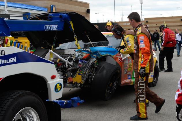 NASCAR Chase 2013: Drivers Hurt Most by Hollywood Casino 400 Results