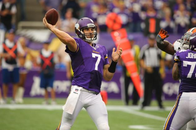 Making a Case for Christian Ponder to Be Minnesota Vikings' Starter in Week 6