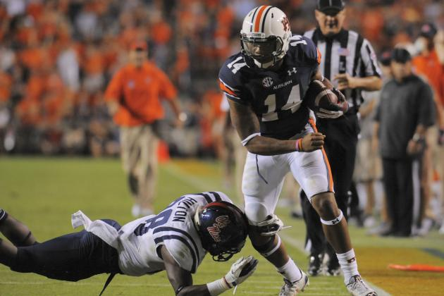 Auburn Football: Nick Marshall Sets Conference Rushing Mark for Quarterbacks