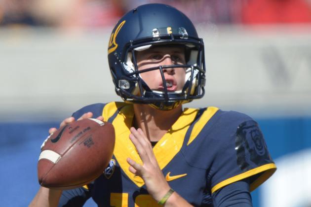 California QB Jared Goff Credited with School Record Passing Day