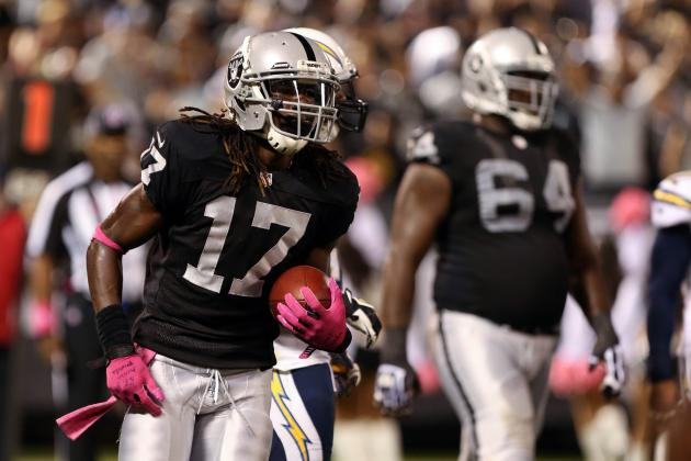 Denarius Moore's Instant Fantasy Reaction After Week 5 Performance vs. Chargers