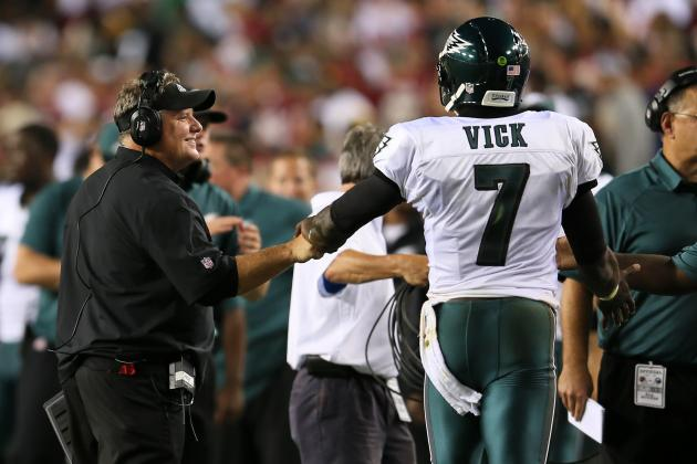 Kelly: Vick Is Eagles' Starting QB If Healthy