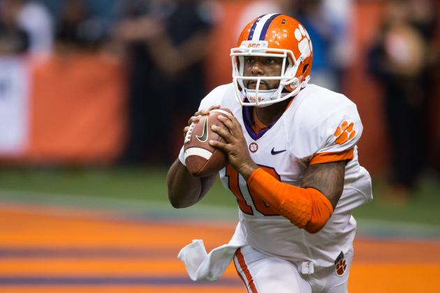 Clemson Overtakes Oregon for No. 2 in BCS, but Will It Last?