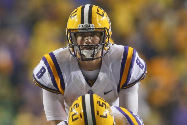 Will Zach Mettenberger Finish as the Best LSU QB of the Les Miles Era?