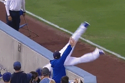 Carl Crawford Follows Up 3-Run Homer with Outstanding Catch and Somersault