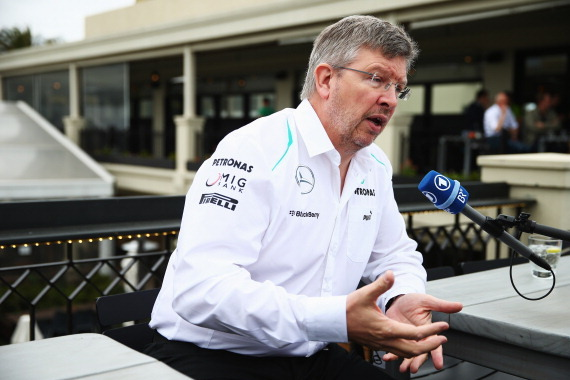 Mercedes Denies Reports That Ross Brawn Will Join McLaren at End of the Season