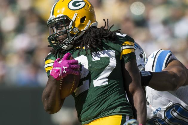 Eddie Lacy Carves out a Role for Himself in the Packers' Offense