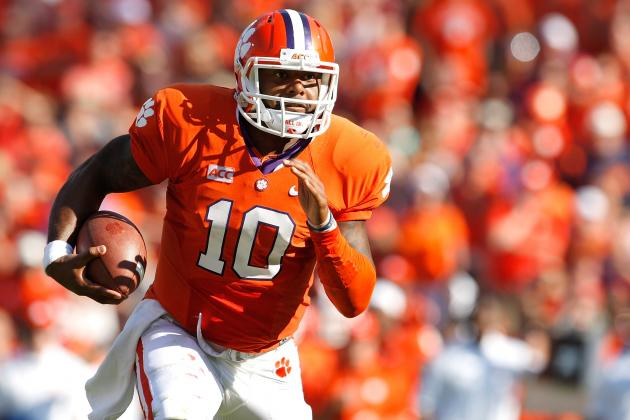 How Tajh Boyd, Sammy Watkins Have Helped Clemson Mature over the Years