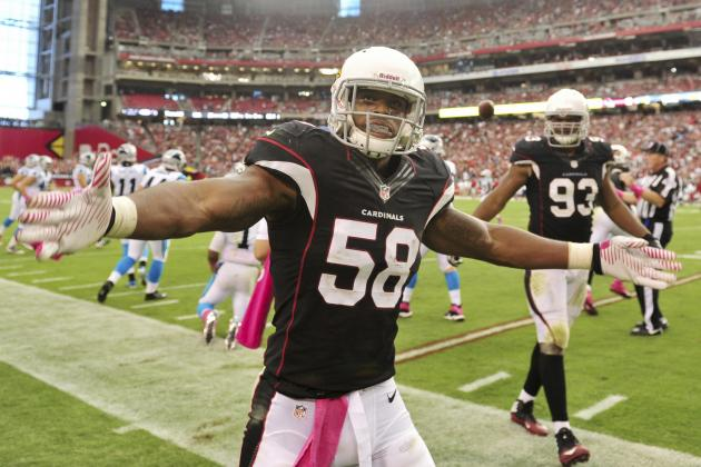 Breaking Down ILB Daryl Washington's Monster Return to Arizona Cardinals' Lineup