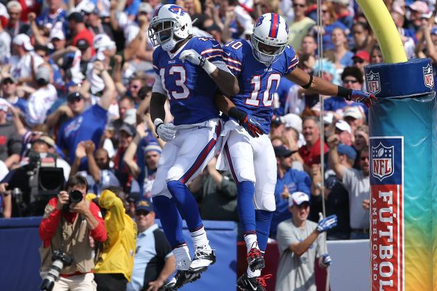 Stevie Johnson and Robert Woods' Updated 2013 Fantasy Outlook with Thad Lewis
