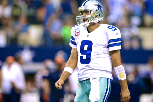 Tony Romo's Epic 500-Yard Game Undone by Last-Minute Choke