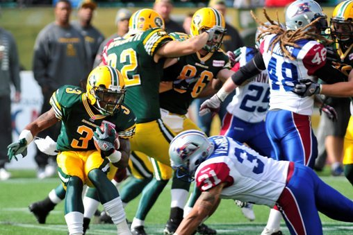 Edmonton Eskimos' Effort Far Too Little, Far Too Late