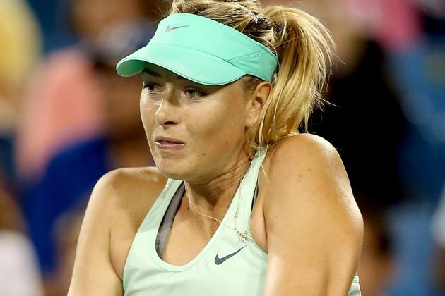 Maria Sharapova Pulls out of WTA Championships