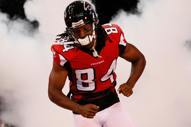 Predicting Roddy White's Fantasy Stats vs. Jets on Monday Night Football