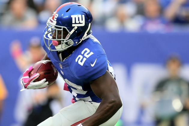 David Wilson Injury Means Trouble for Giants