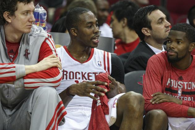 Howard Ejected in Rockets Debut