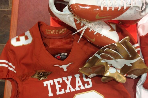 Texas Unveils Red River Rivalry Unis