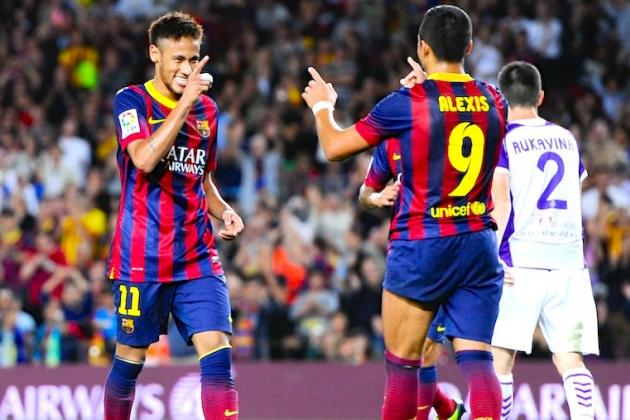 European Team of the Week: Neymar, Van Der Vaart and Sergio Ramos Impress
