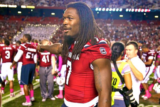Steve Spurrier Will Have to Deal with Jadeveon Clowney Headache Indefinitely