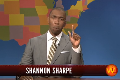 SNL's Jay Pharoah Tackles Shannon Sharpe Impression, and It's Hilarious