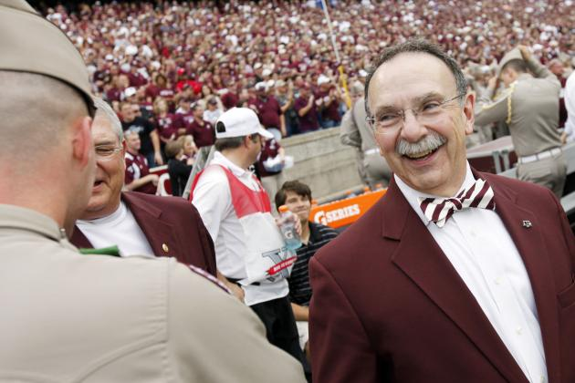 Texas A&M President Tweeted Recruit, Commits Secondary NCAA Infraction