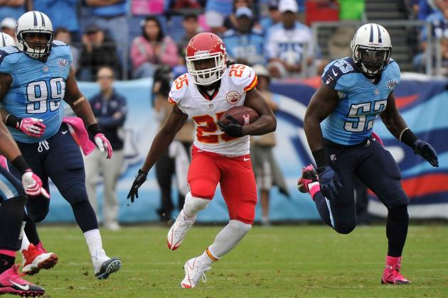 2013 Fantasy Football Running Back Rankings: NFL Week 6