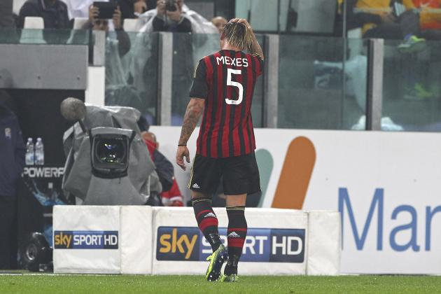 Philippe Mexes Banned for 4 Matches After Punching Giorgio Chiellini