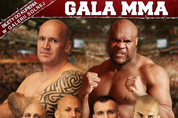 Bob Sapp Is the Meanest Looking Guy on This Polish Fight Poster