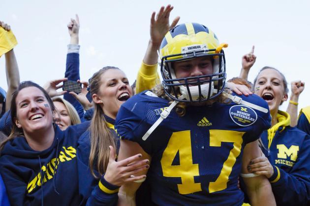 Michigan Football: Brady Hoke Says LB Jake Ryan Cleared to Play