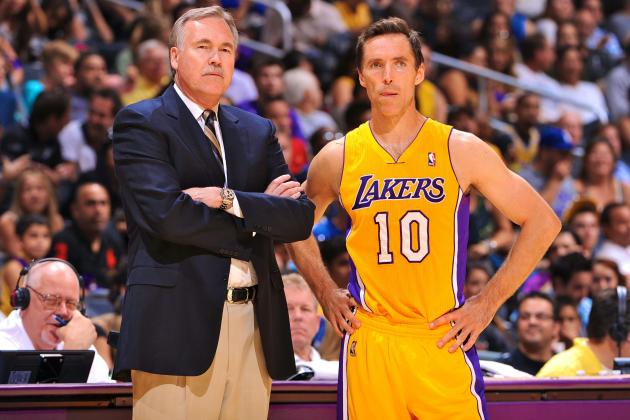 Steve Nash: Uneven Preseason Debut a Lot Better Than End of the Line