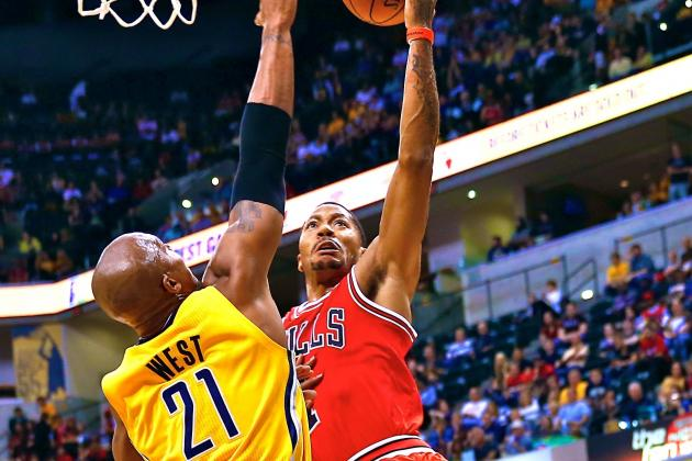 Derrick Rose Says Vertical Leap Has Increased by 5 Inches Since ACL Injury