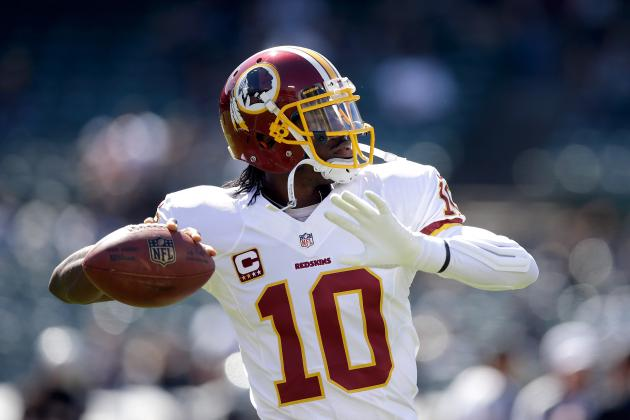 Robert Griffin III Represents a Great Buy-Low Option in Fantasy Football