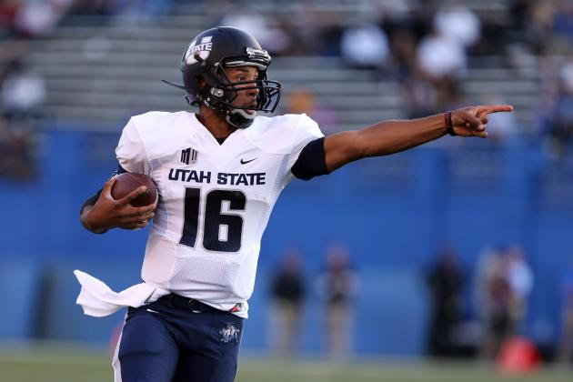 Utah State QB Keeton out vs. Boise State, Season