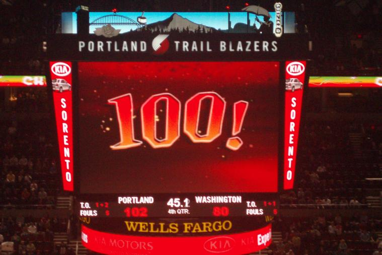 Portland Trail Blazers to Replace 100-Point Freebie Chalupa with McMuffin