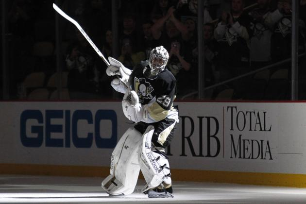 Marc-Andre Fleury Named NHL 'Third Star' of the Week