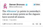 Broncos, Jaguars Beef on Twitter