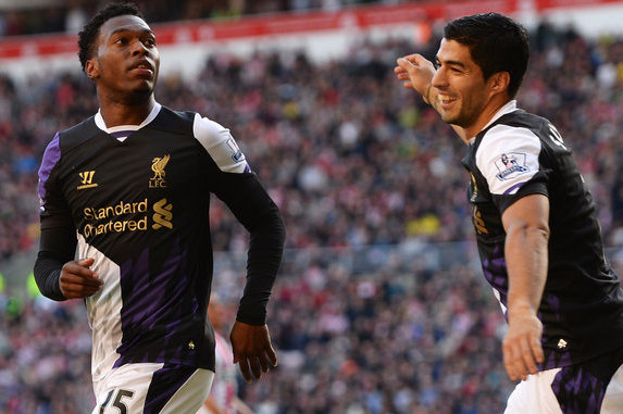 Suarez Doesn't See Sturridge as a Rival