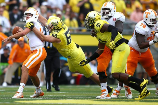 Upcoming Schedule Will Determine Final Grade for Oregon Defense