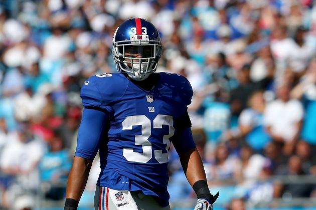 Da'Rel Scott Reportedly Released by New York Giants After Brief Return