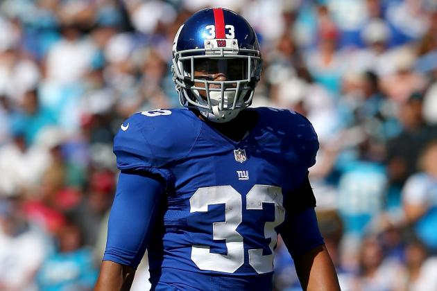 Report: Giants Will Re-Sign RB Da'Rel Scott