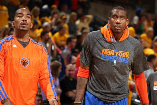 Amar'e Stoudemire, J.R. Smith to Miss Knicks' First 3 Preseason Games