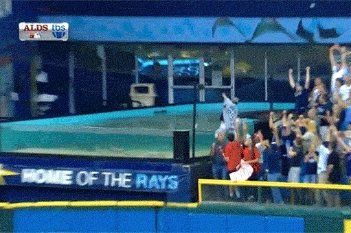 Rays vs. Red Sox Video: Watch Jose Lobaton Win Game 3 with Walk-off HR