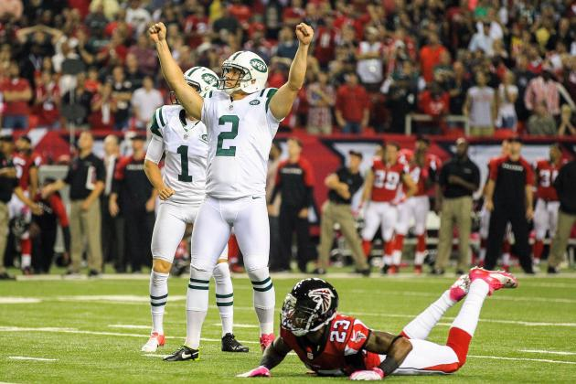 Smith's Late Drive Pushes Jets over Falcons