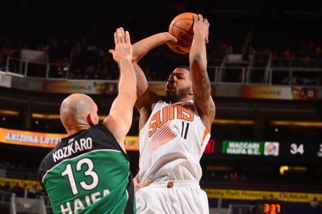 Phoenix Suns 130, Maccabi Haifa 89 -- An easy debut