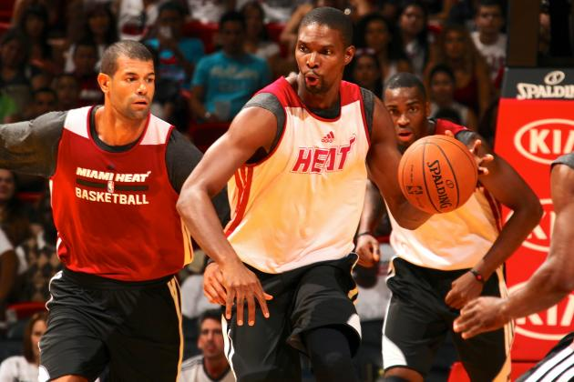 A Strong Start for Chris Bosh, the Miami Heat's Man of Many Roles